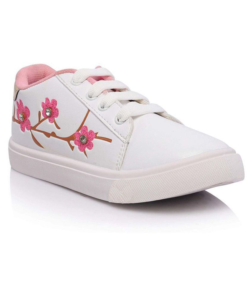 White Sneakers For Girls