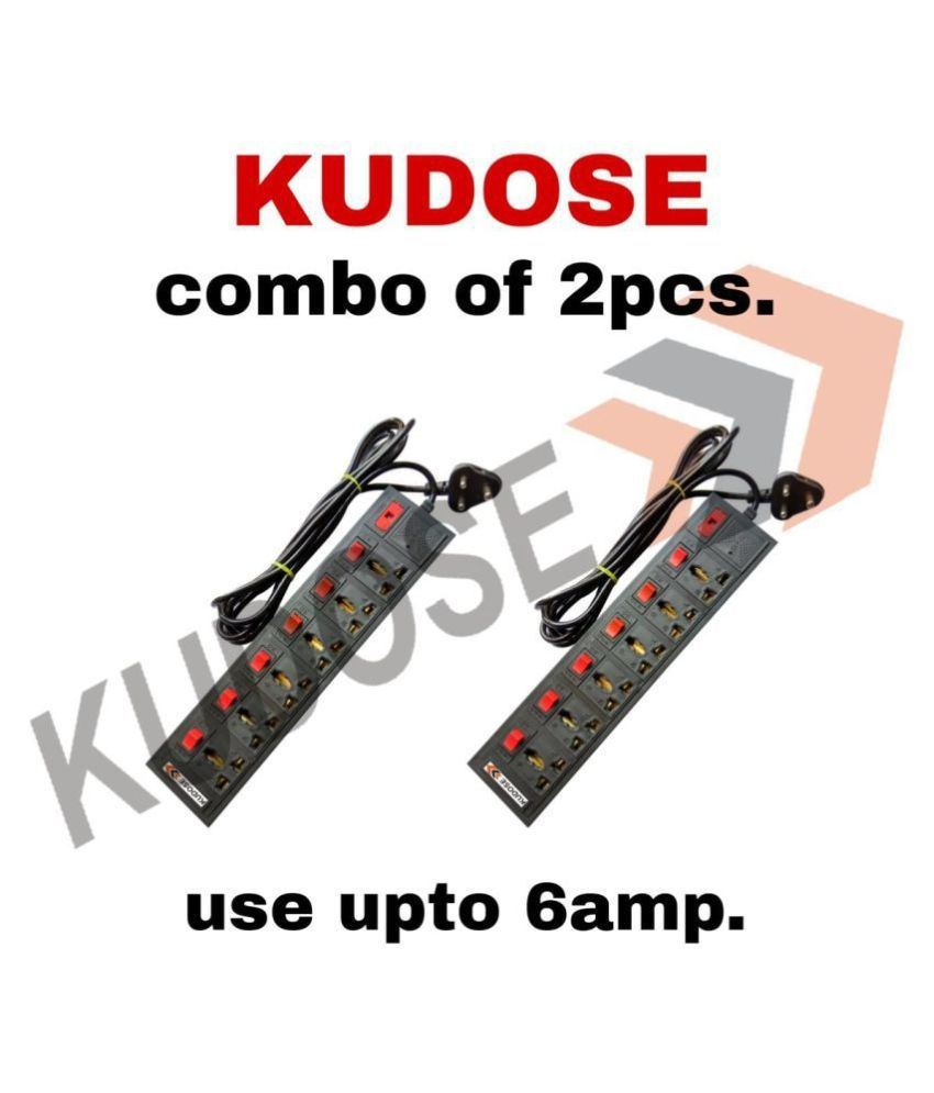 kudose 6 Socket Extension Board