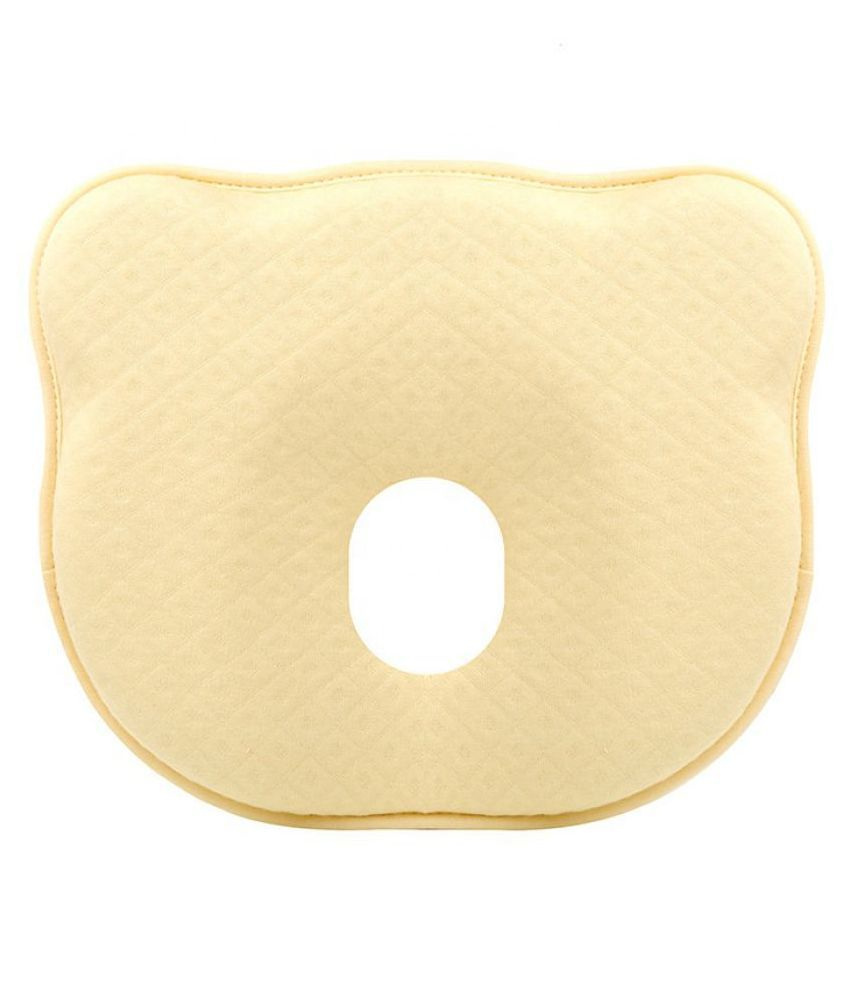AHC Yellow Memory Foam Normal Baby Pillow