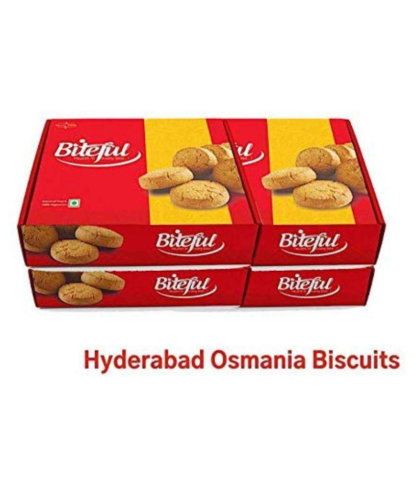 BITEFUL Salted Cookies 2 kg Pack of 4
