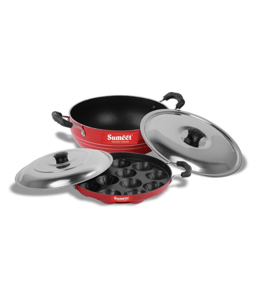 Sumeet Get Ready Nonstick 3 Piece Cookware Set