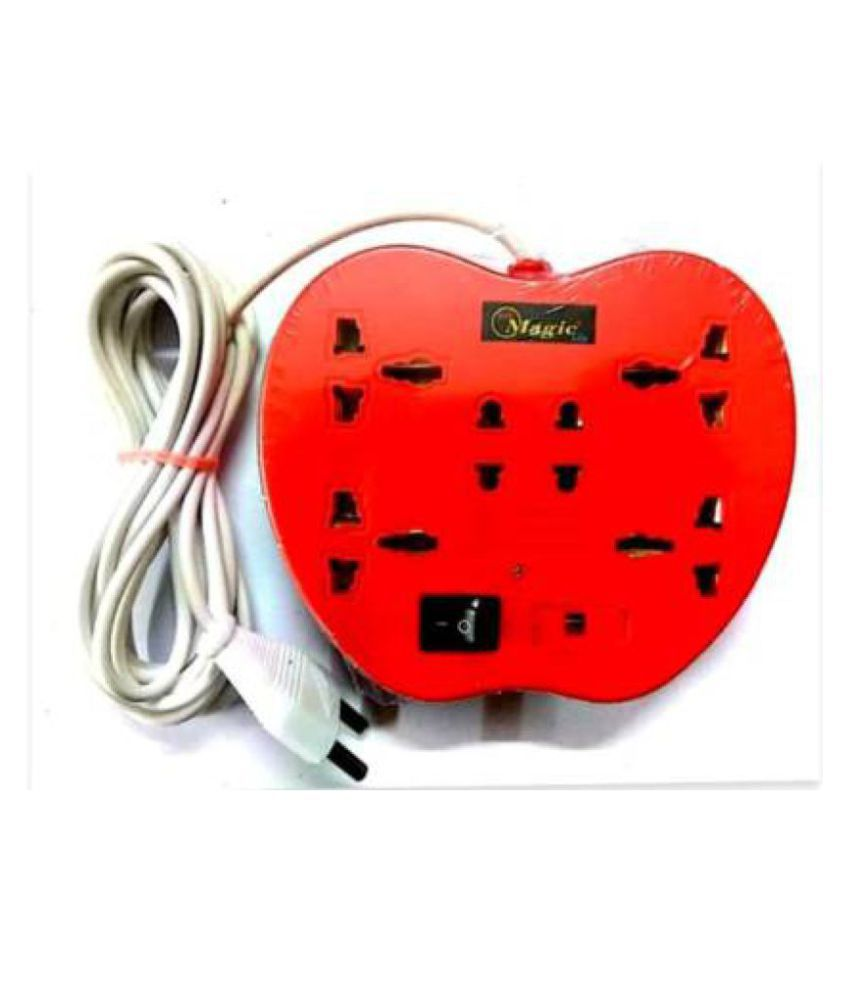 Telsa Electric 6 Socket Extension Board