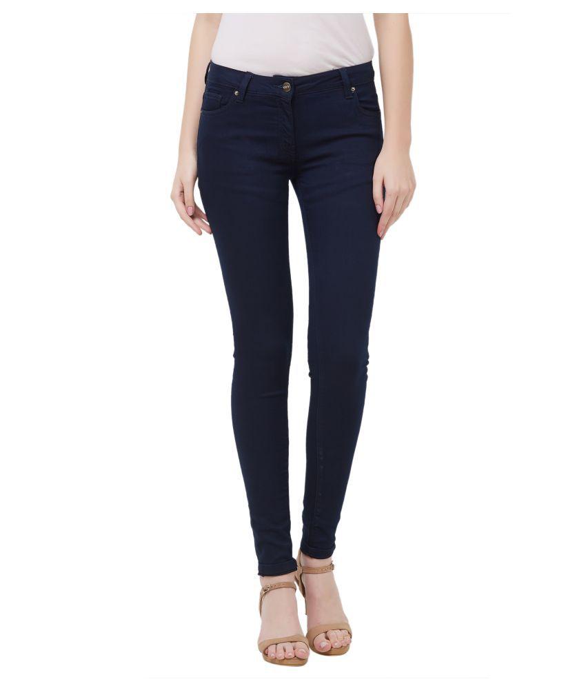 109 F Cotton Jeans - Blue