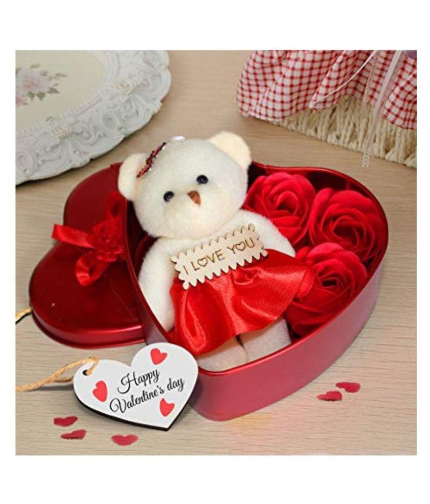 NIHIT Fabric Valentine Hamper Multicolour - Pack of 1