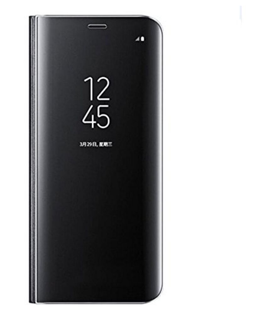 Vivo Y91 Flip Cover by BeingStylish - Black Limited Period Offer