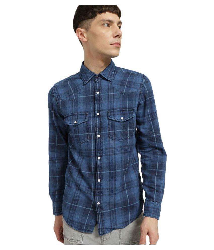 LION & HESS Denim Blue Shirt