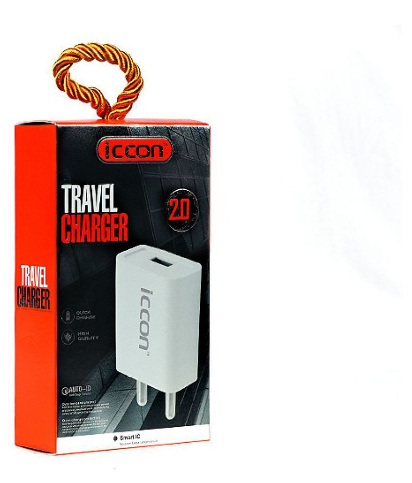Iccon 2A Travel Charger