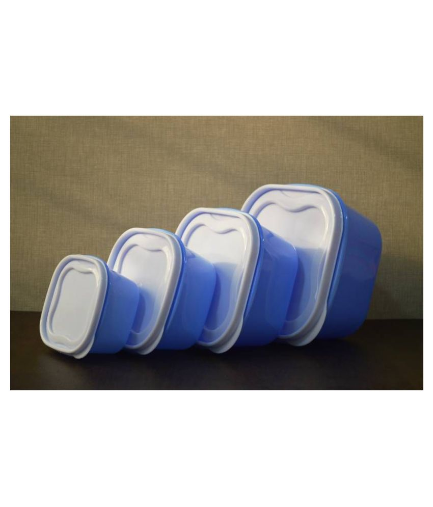 Analog kitchenware Polyproplene Food Container Set of 4 5000 mL
