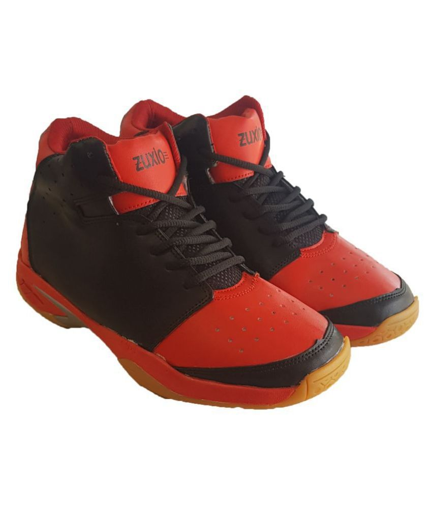ZUXIO Panther Red Basketball Shoes