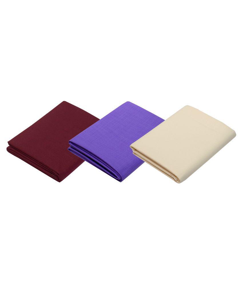 KUNDAN SULZ GWALIOR Multi Cotton Blend Unstitched Shirt pc