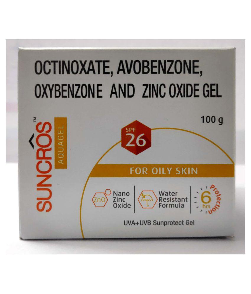 SUNCROS Sunscreen Gel SPF 26 100g g