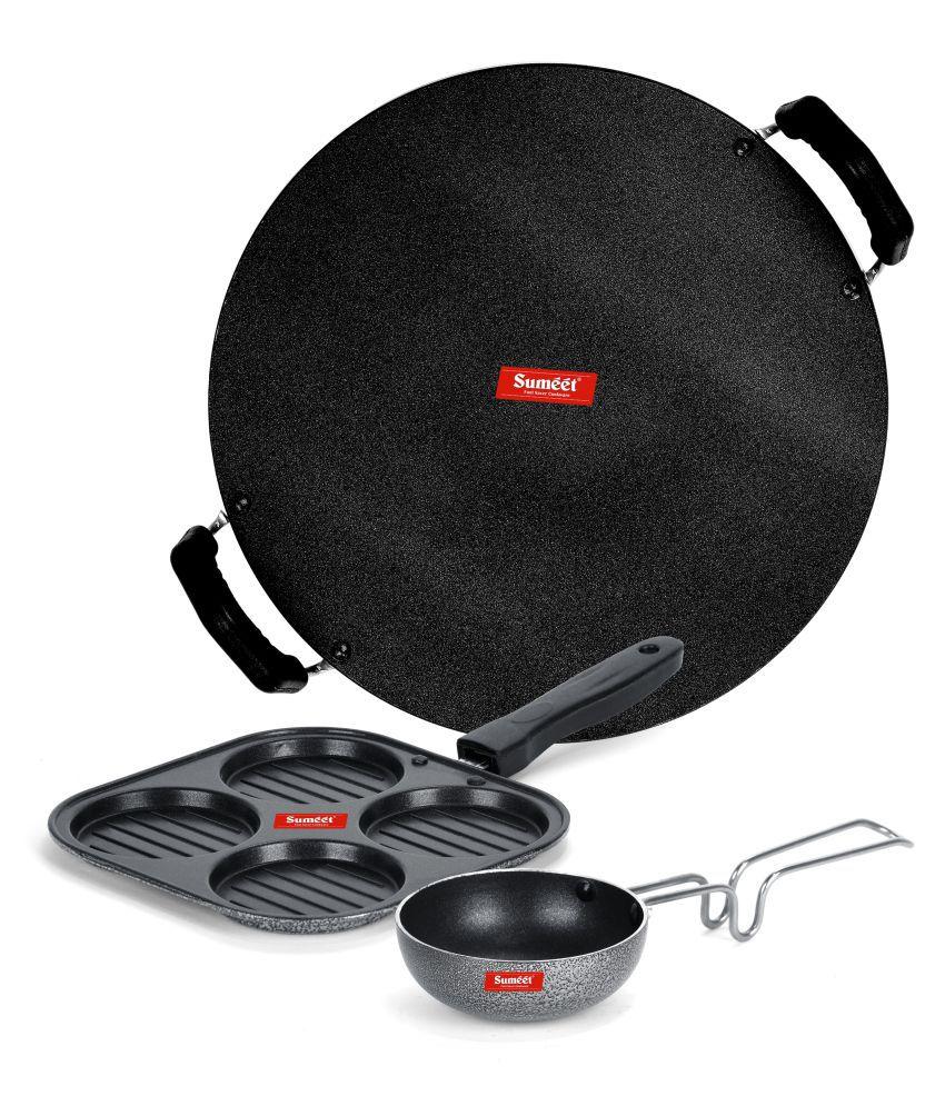 Sumeet Pilkas NonStick 3 Piece Cookware Set