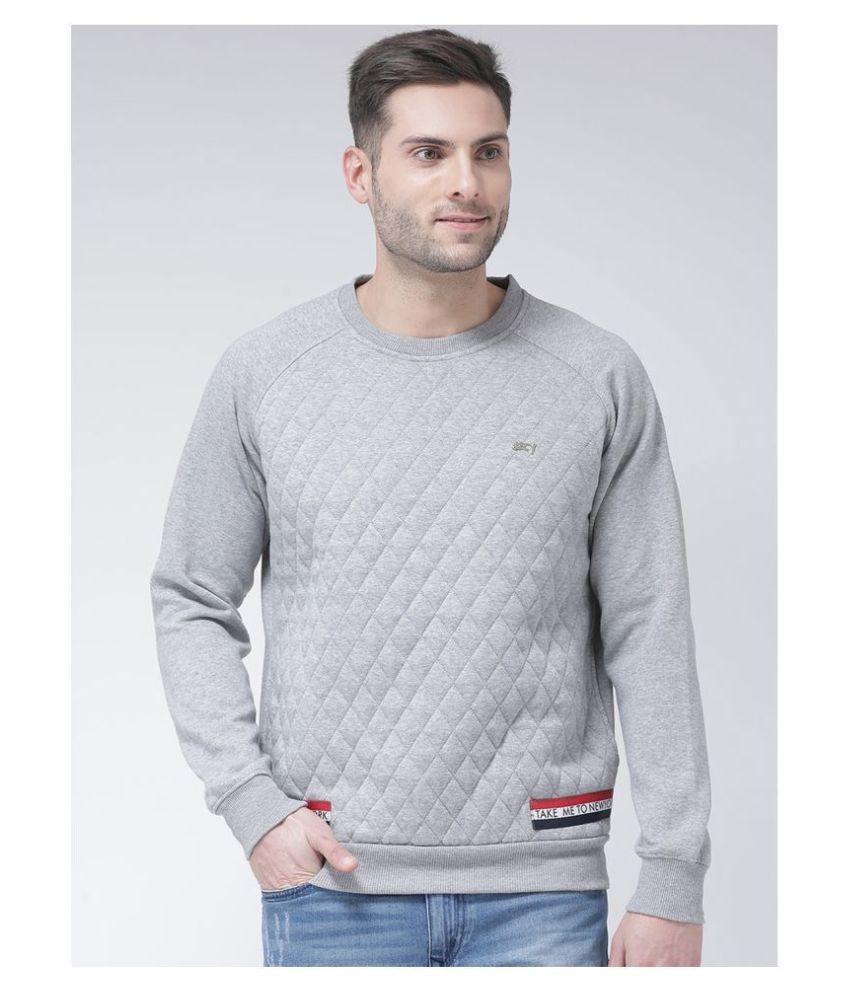 Club York Grey Sweatshirt