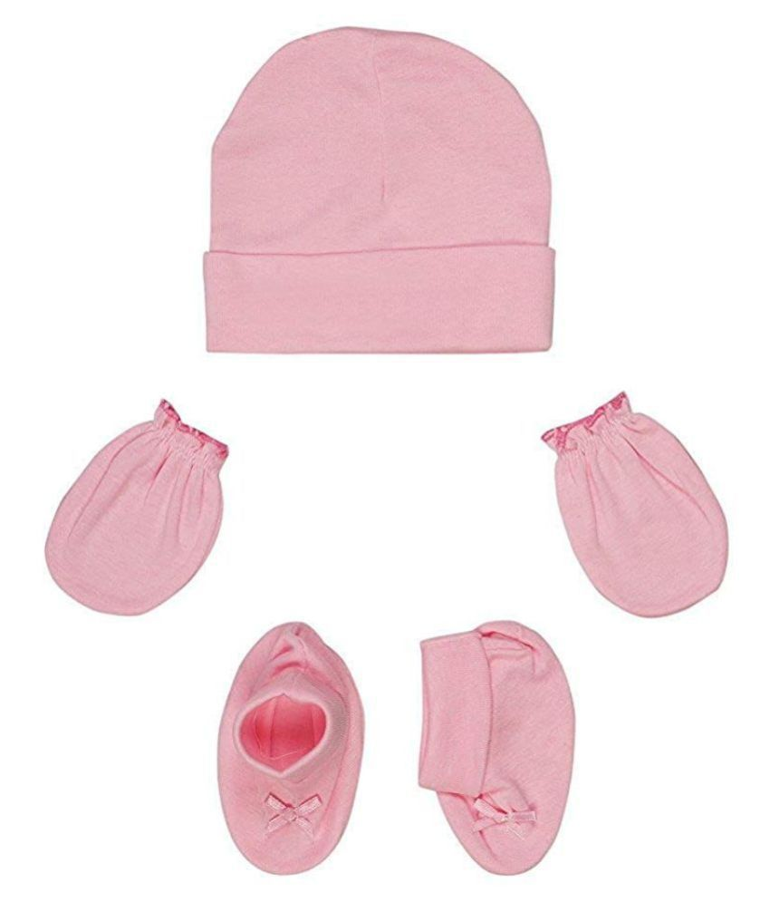 Gouravsumana Baby Boys and Baby Girl's Soft Cotton Cap ( Multicolour ; Pack Of 1 ) 6-9 Months