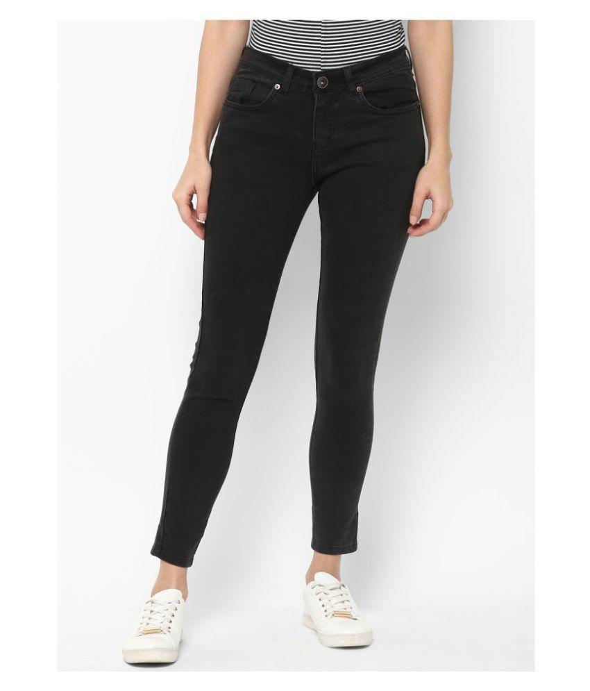 Urbano Fashion Cotton Lycra Jeans - Grey