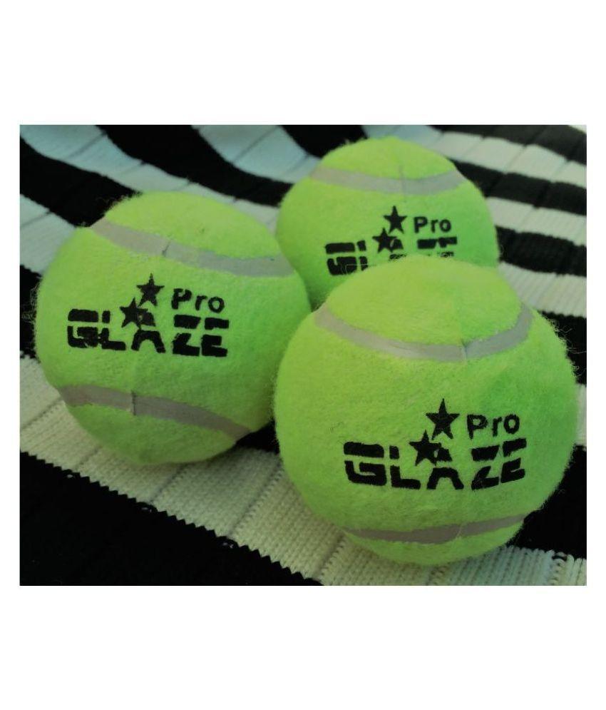 GLAZE Glaze Championship Tennis Ball GREEN 3