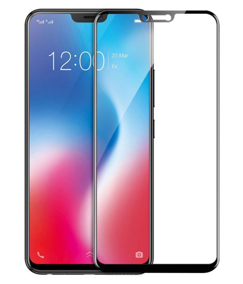 Vivo X21 Tempered Glass Screen Guard By lenmax UV Protection, Anti Reflection