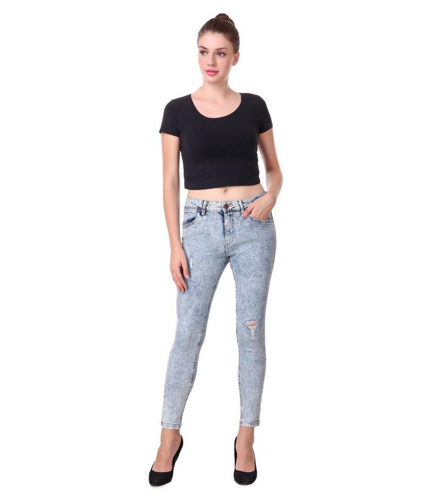 Cali Republic Denim Jeans - Grey