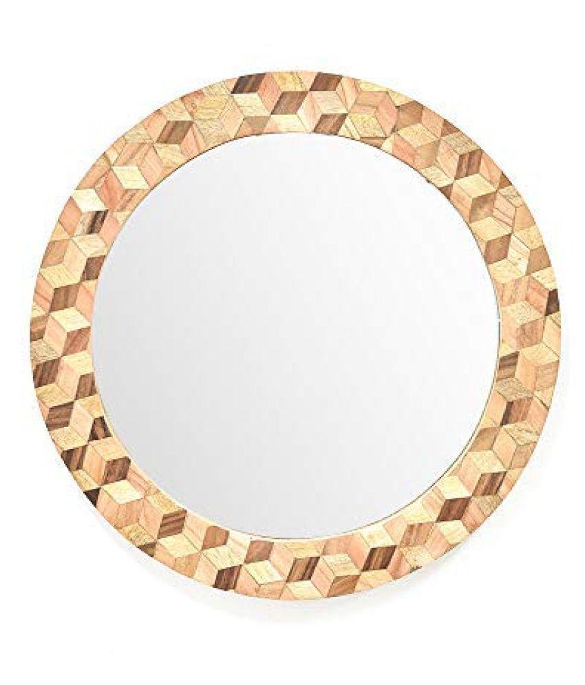 Casa Decor Mirror Wall Mirror ( 35 x 5 cms ) - Pack of 1