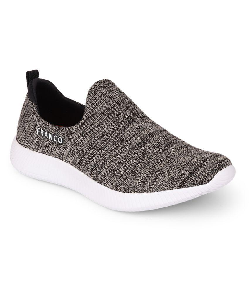 Franco Leone Beige Running Shoes