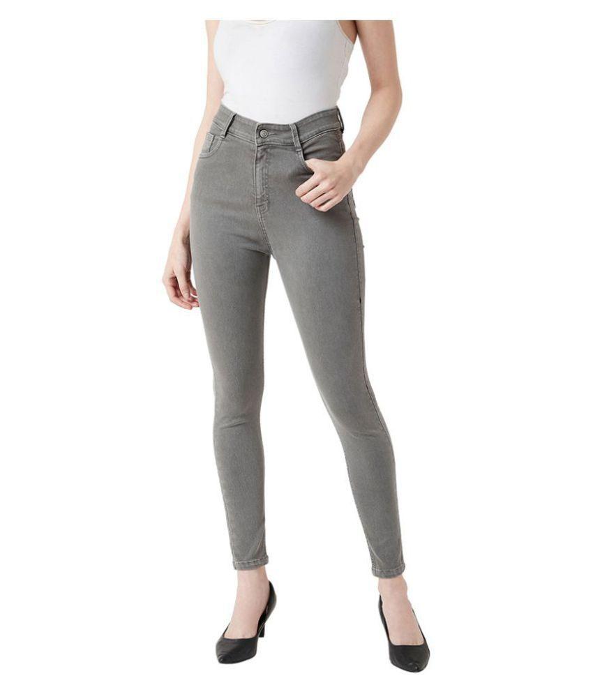 Miss Chase Denim Jeans - Grey