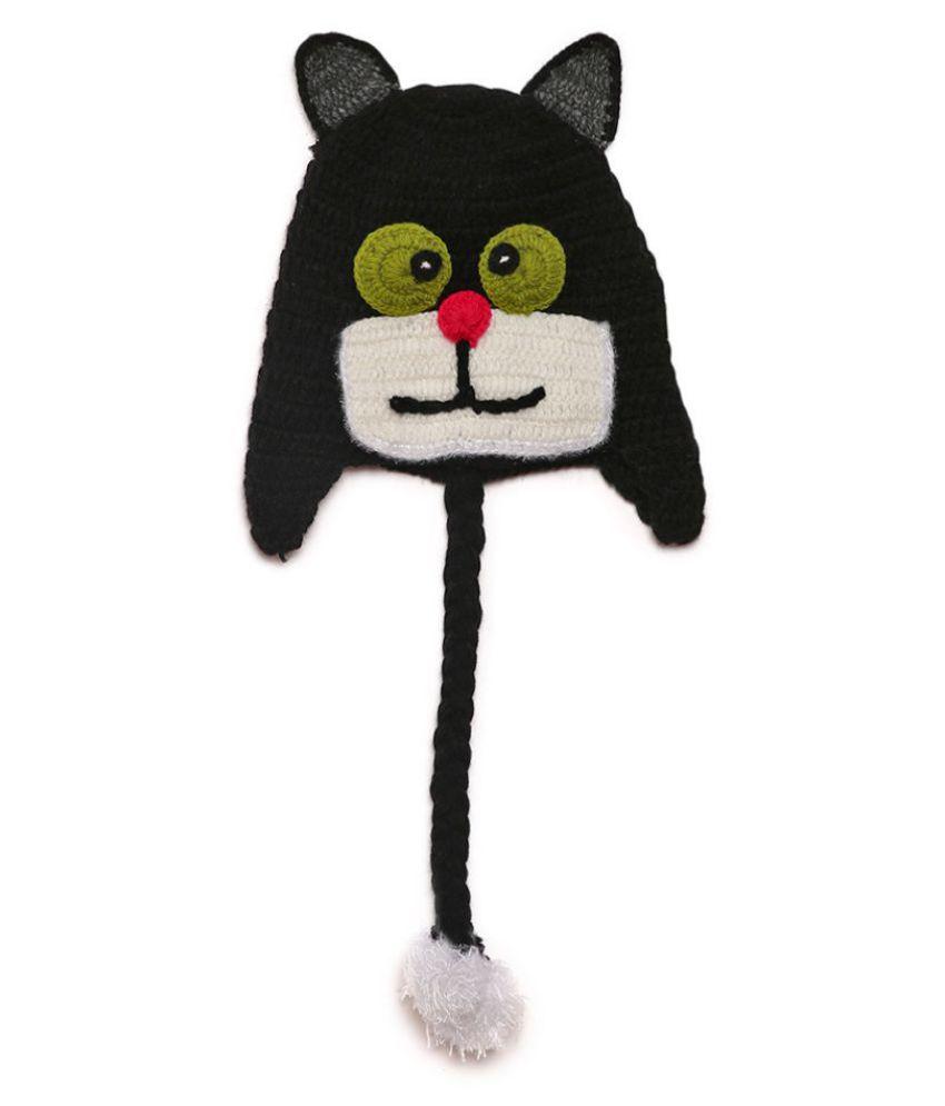 CHUTPUT Black Cute Cap