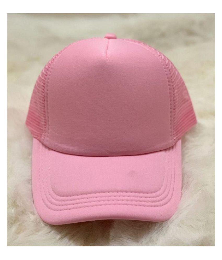 Shreeji Max Imported Plain Pink Cap.