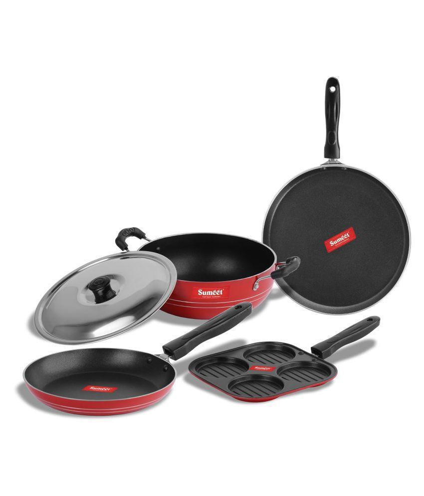 Sumeet Rodze Nonstick 5 Piece Cookware Set