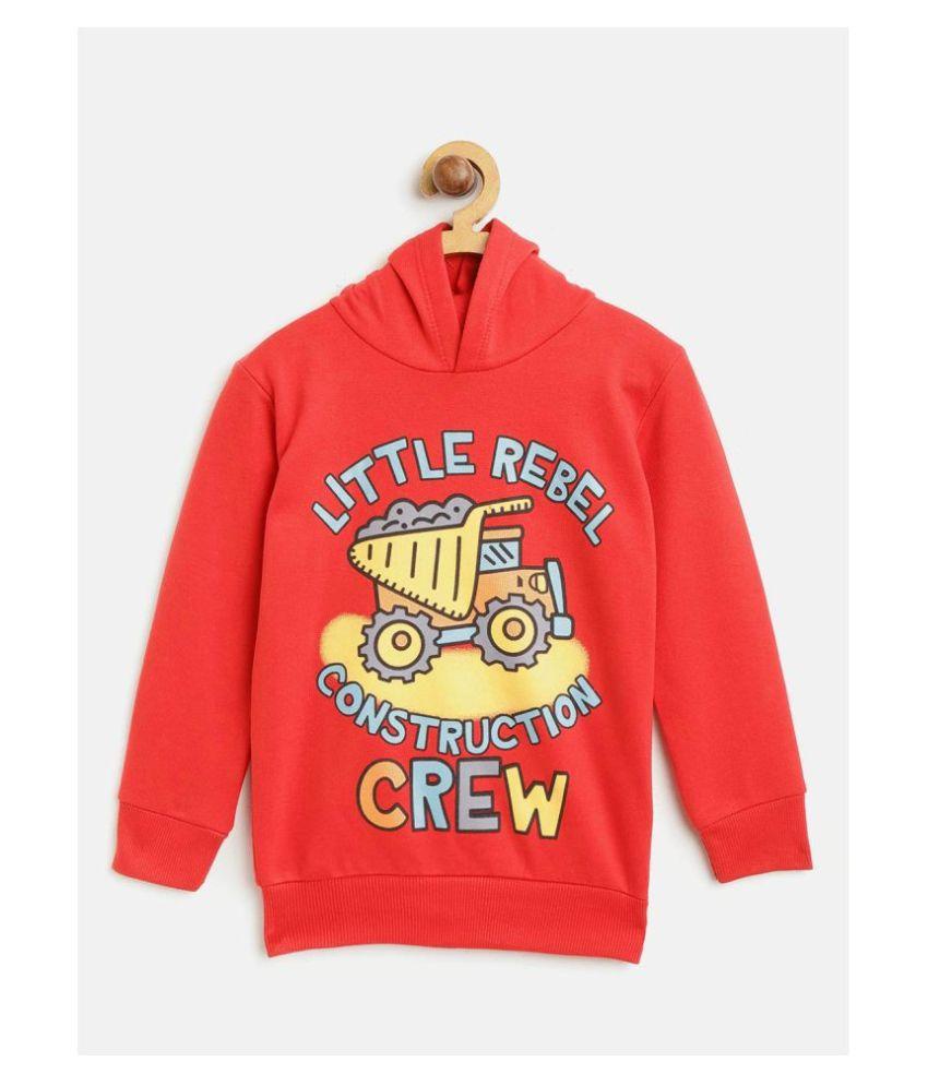 Lazy Shark Kids Boys Car Print Sweatshirt