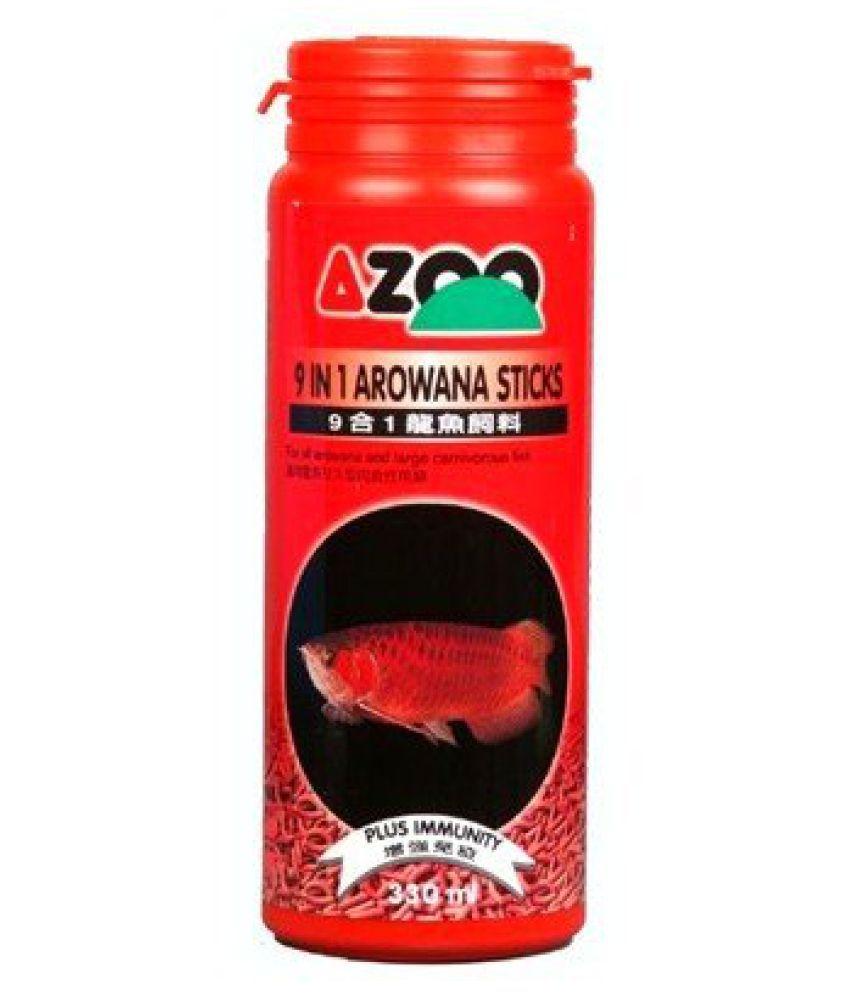 330 ml 9 in 1 AZOO AROWANA FOOD