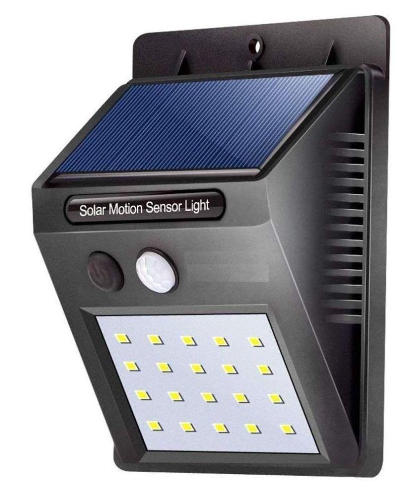 IDYAH 0.5W Solar Outdoor Wall Light - Pack of 1