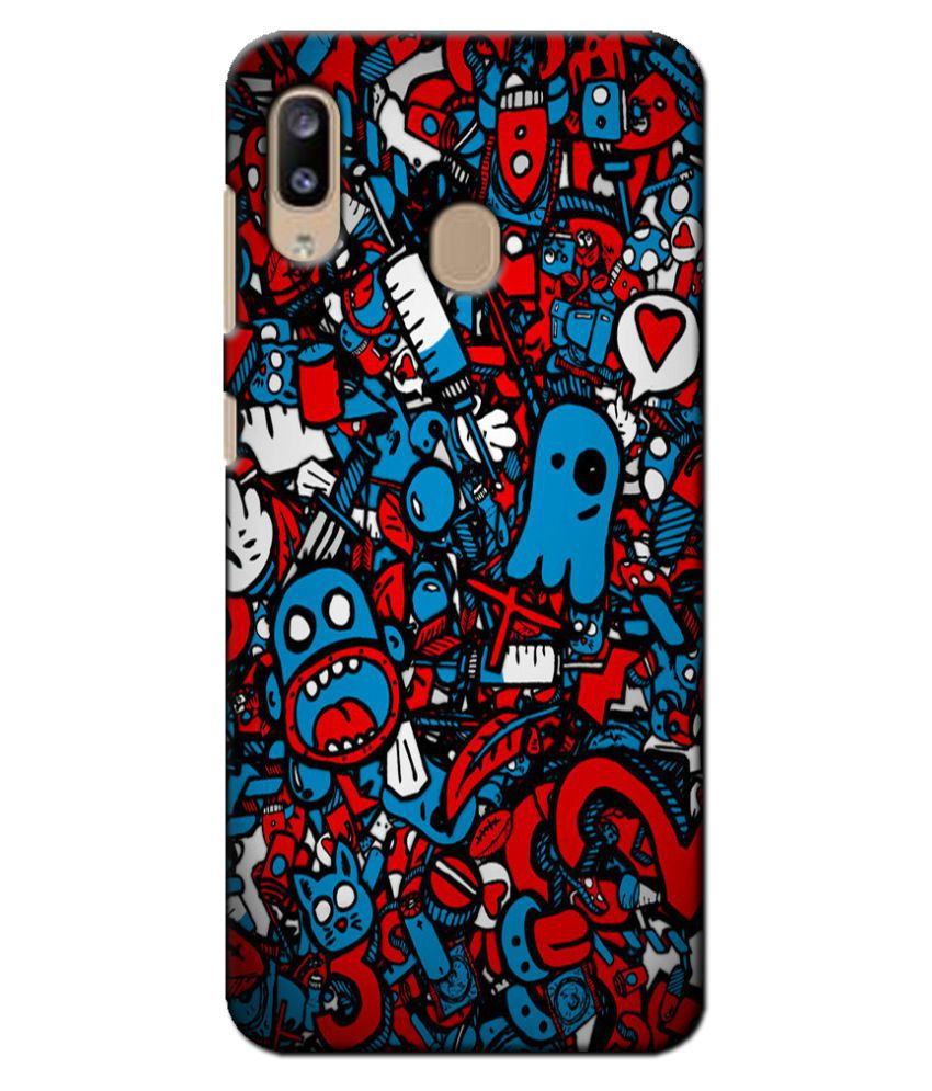 Samsung Galaxy A20 Printed Cover By Case king 3D Printed Cover