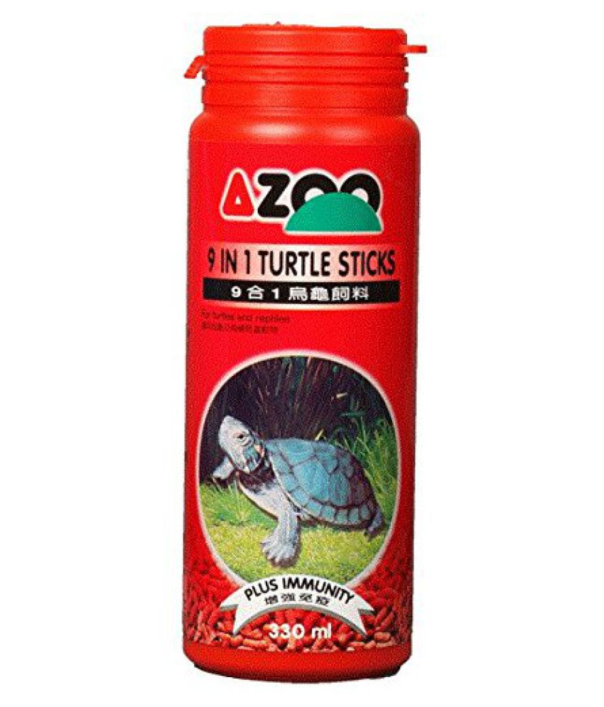 330 ml  9 in 1 AZOO TURTLE FOOD