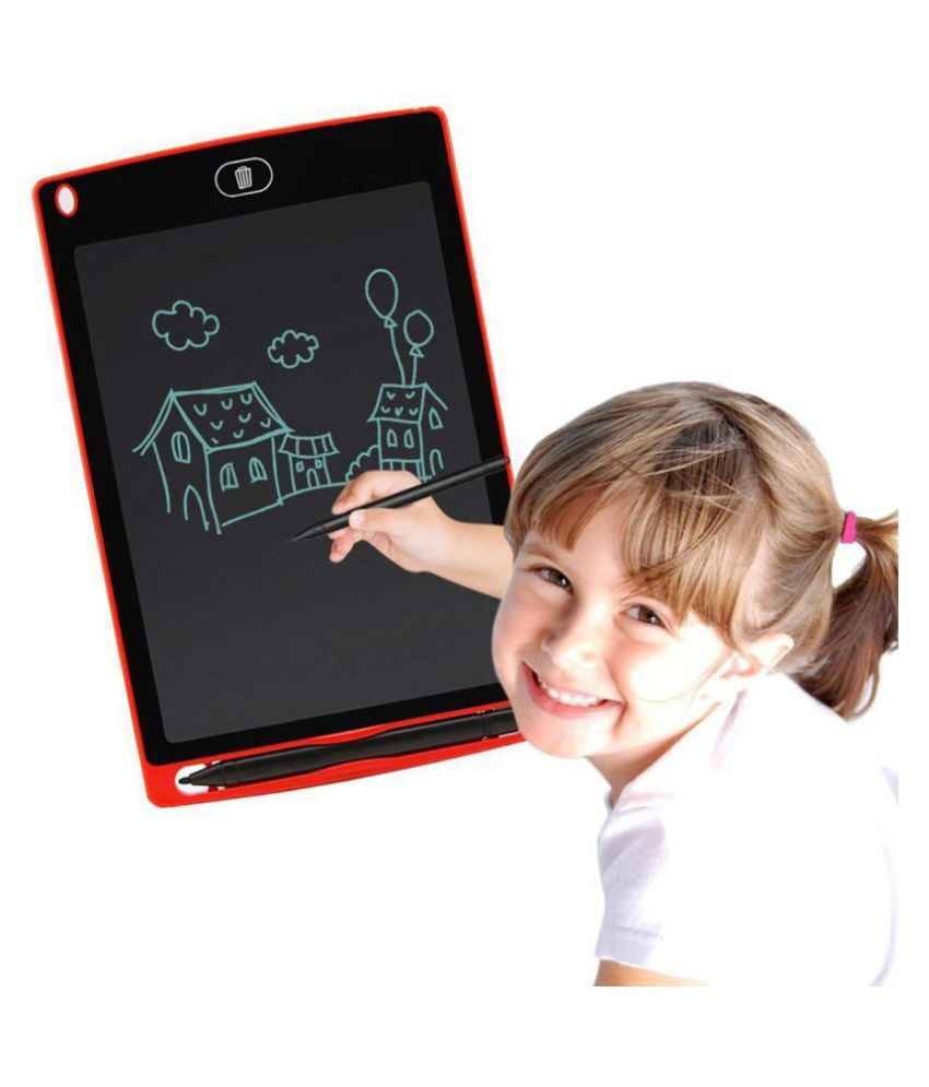 Vmoni LCD Writing & Drawing Tablet with Stylus for Kids and Office Use (AssortedColor)