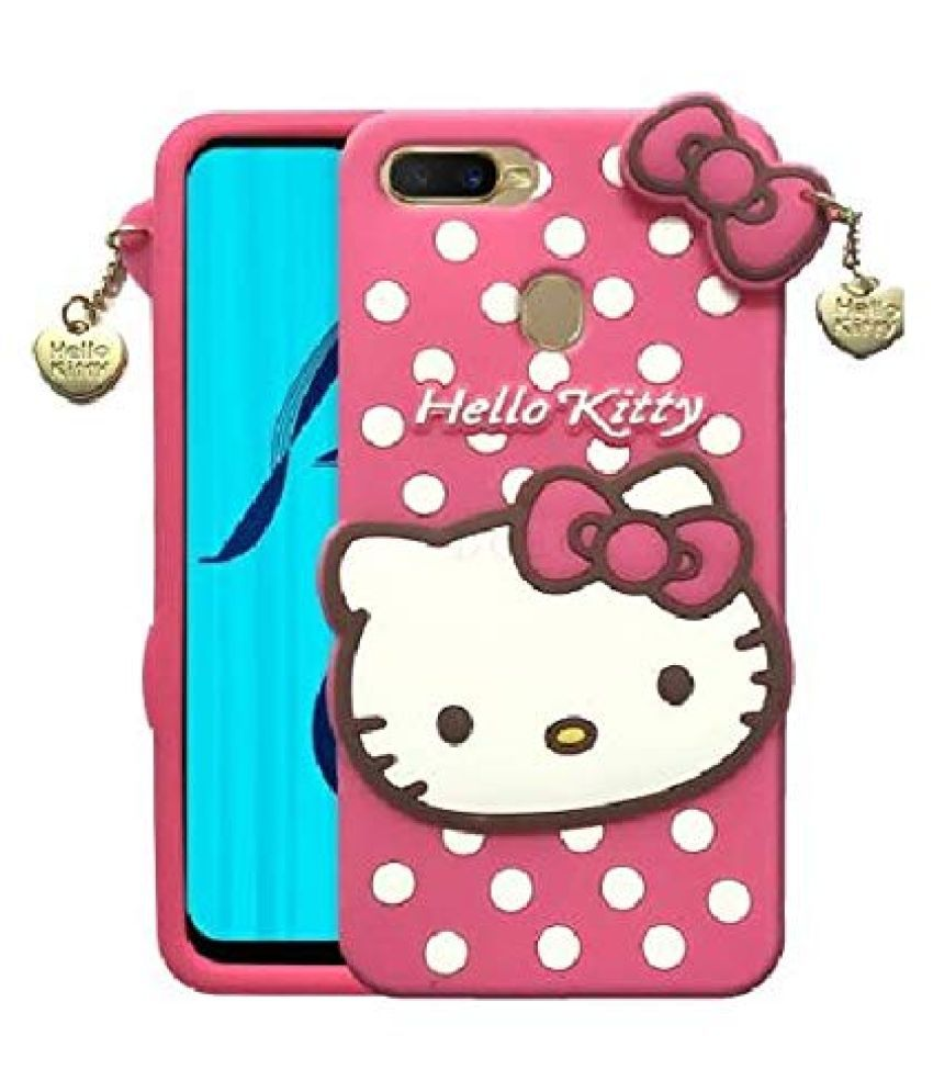 Realme C1 Printed Cover By ClickAway Cute Hello Kitty Back Cover