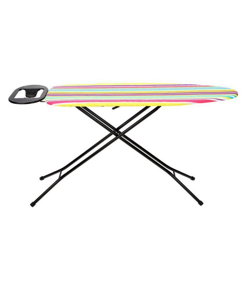 Ironing Board Black Stand 110 x 33 cm Multicolor- Eurostar