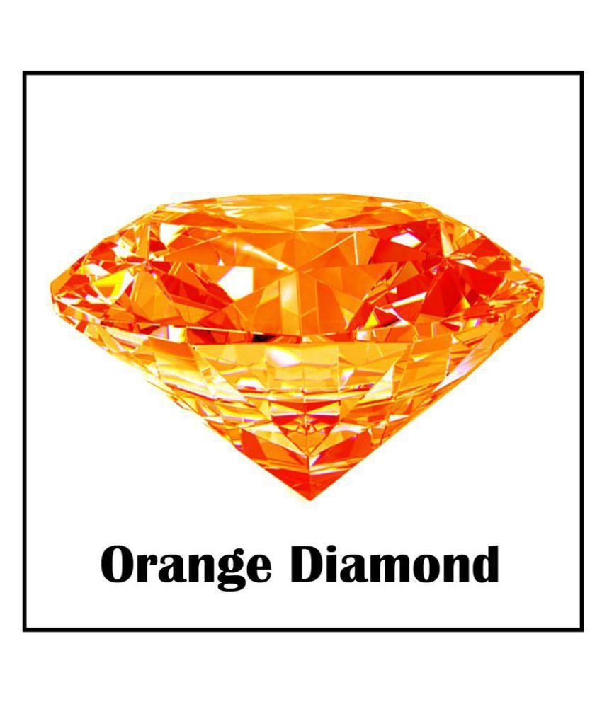 Maya Gems/ 6.25-Carat American Crystal Orange Diamond