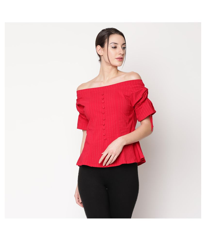 V2 Pink Rayon Shirt