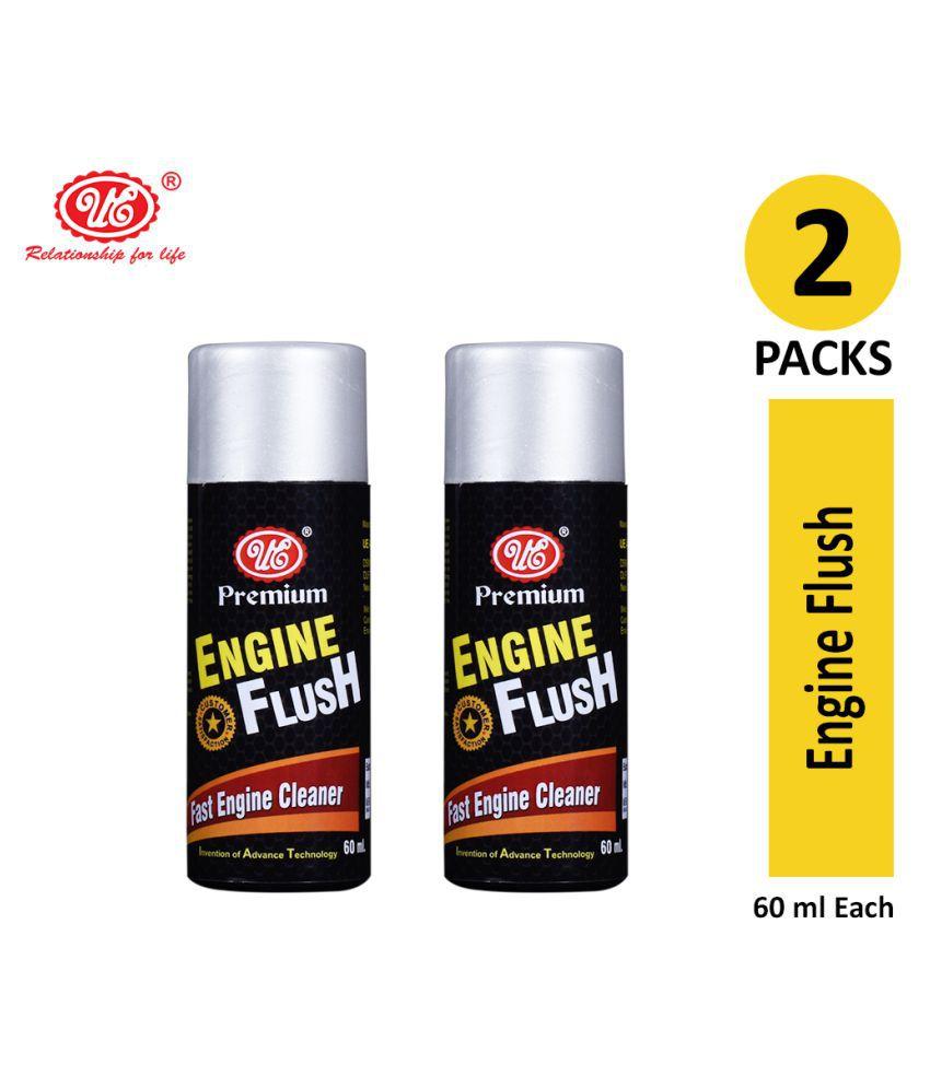UE Premium Engine Oil Motor Flush to Remove Sludge & Deposits in All Petrol & Diesel Car  - 60 ml (Pack of 2)