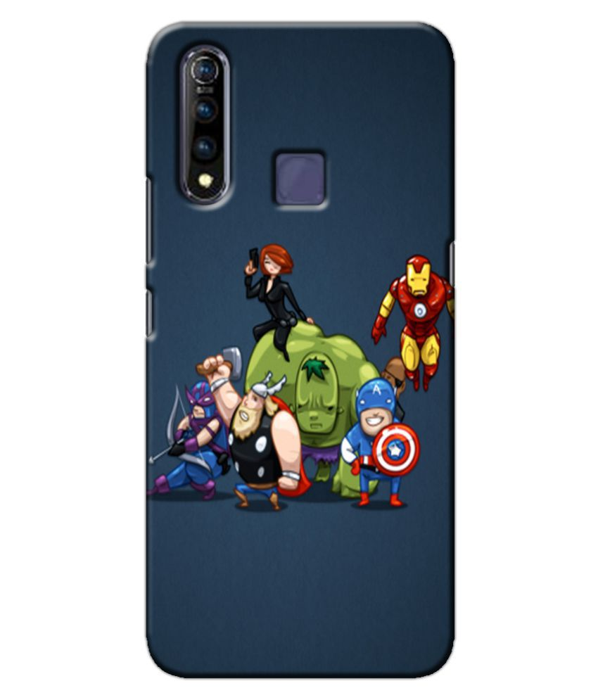 Vivo Z1 Pro Printed Cover By Case king 3D Printed Cover