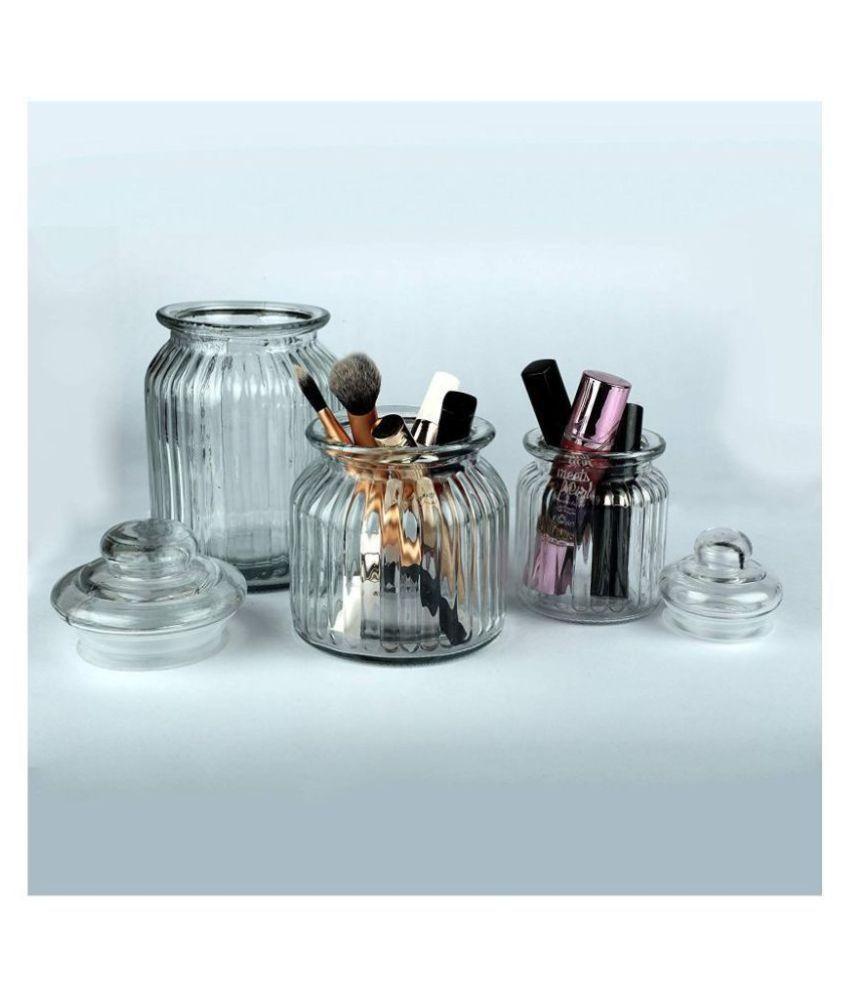 Protetto Glass Oil Container/Dispenser Set of 2 600 mL