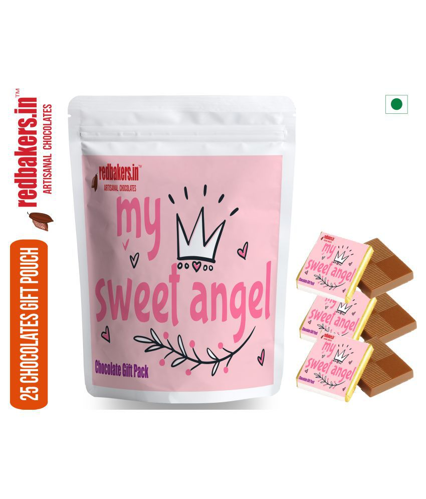 redbakers.in Chocolate Sampler My Sweet Angel  ChocolateBar 250 gm