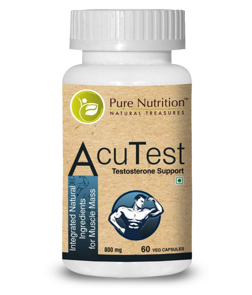 Pure Nutrition AcuTest (Testosterone Support) 60 no.s Multivitamins Tablets: Buy Pure Nutrition
