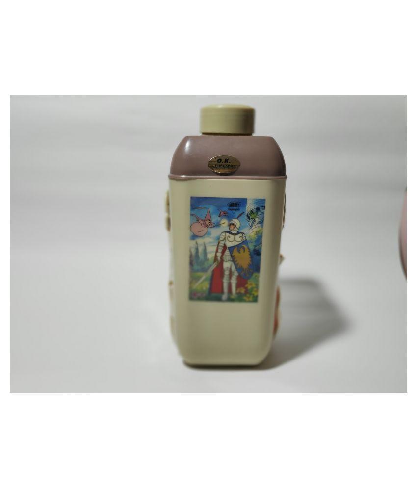 Uodan Grey 266 mL Water Bottle set of 1