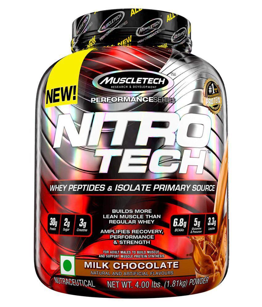 Muscle Tech MUSCLETECH NITROTECH 4LBS 1.81 kg