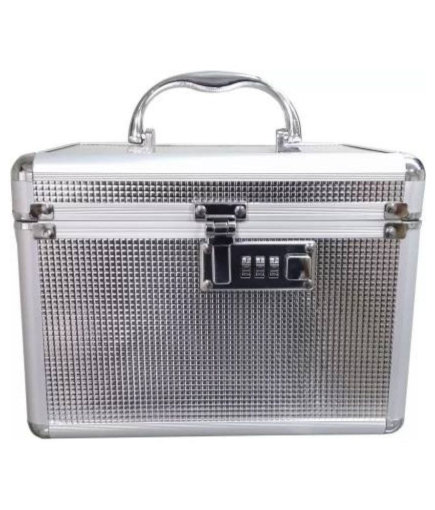 Shadow to store cosmetic items Vanity Box (Silver) vanity box Vanity Box  (Silver)