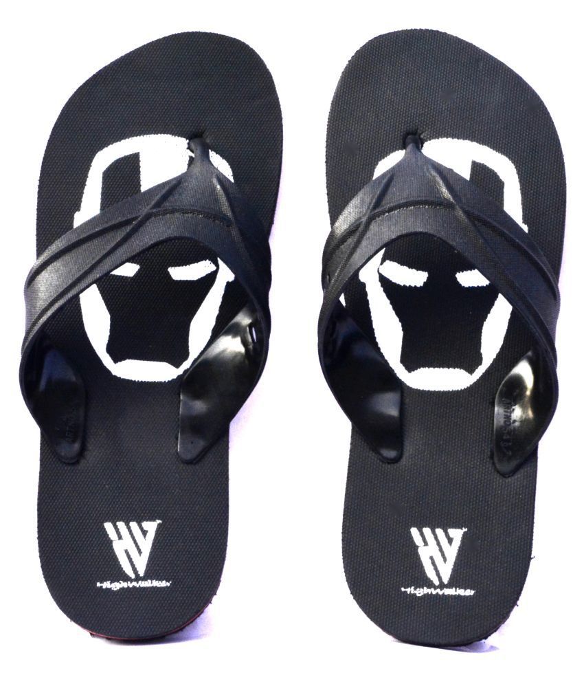 HighWalker Black Daily Slippers