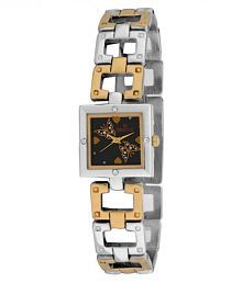 Swisstyle Stainless Steel Square Womens Watch