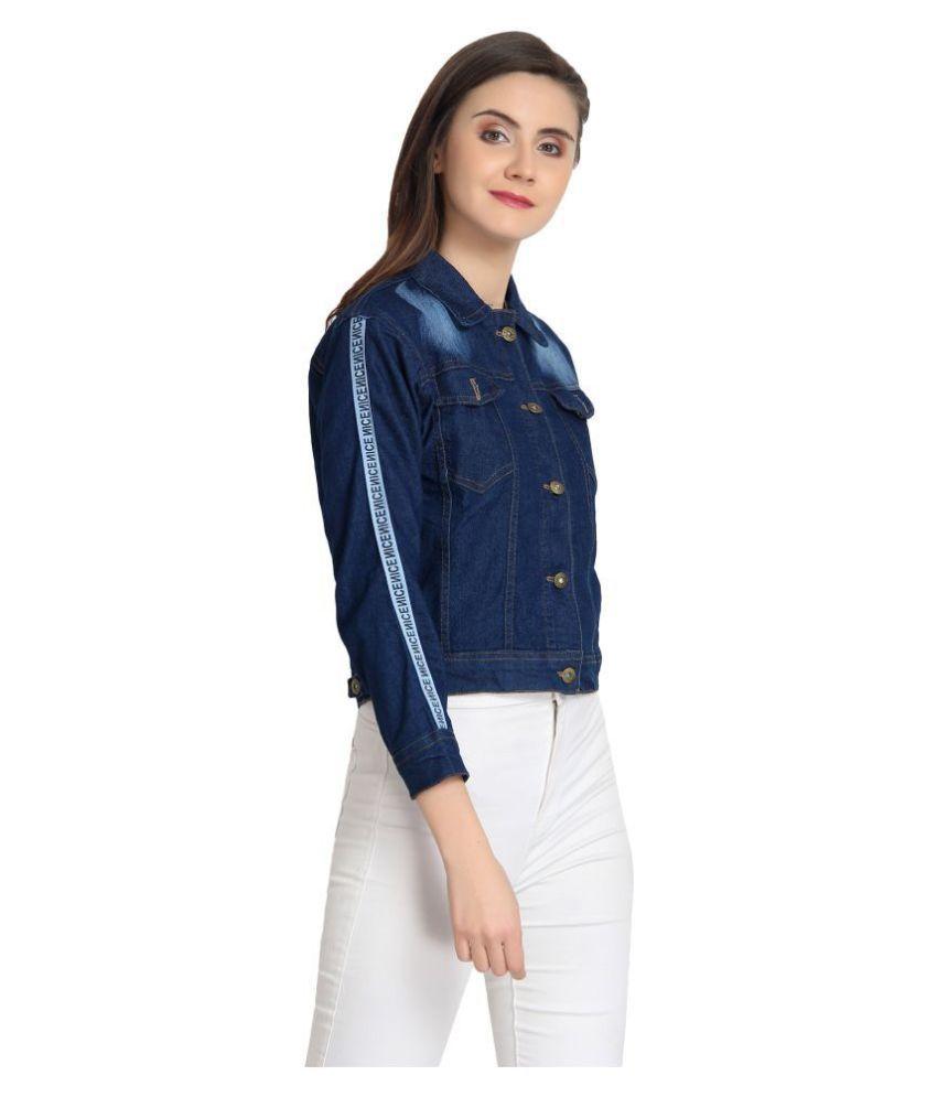 BuyNewTrend Denim Blue Jackets