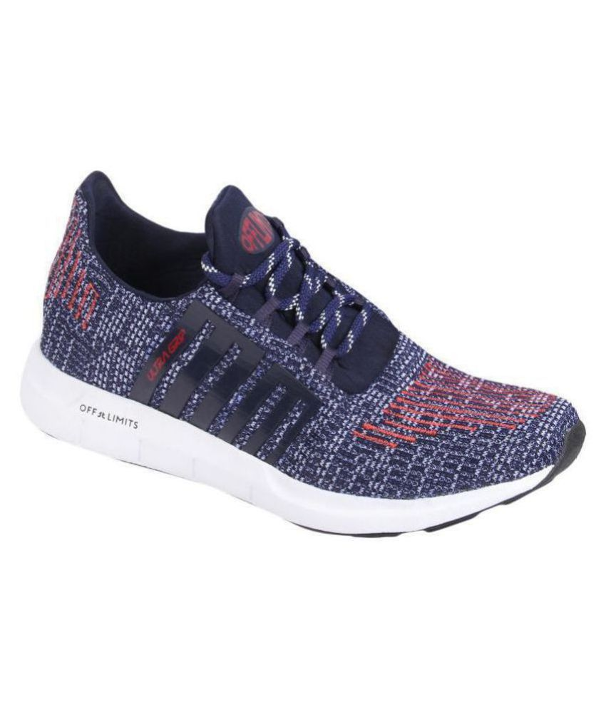 OFF LIMITS ZOOM 2.0 Navy Running Shoes
